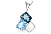 D215-52399: NECK 10.60 BLUE TOPAZ 10.73 TGW