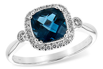 E216-37845: LDS RG 1.62 LONDON BLUE TOPAZ 1.78 TGW