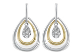 G210-95181: EARRINGS .06 TW